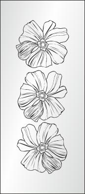 flowers изображение для пескоструя цветы